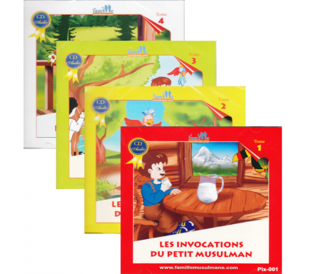 Pack 4 CDs : Le petit musulman (Les aventures du petit Hicham)