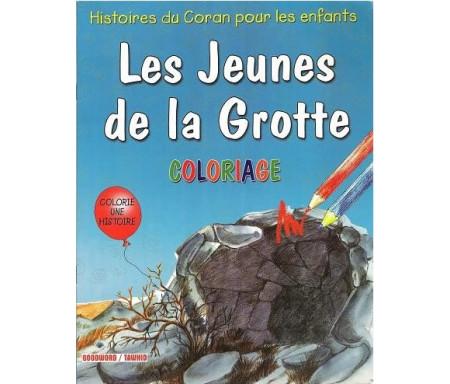 Les Jeunes de la Grotte (Coloriages)