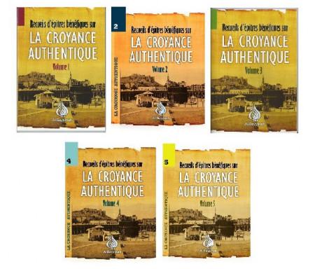 Pack Recueils d'épîtres bénéfiques sur la Croyance Authentique en 5 Volumes