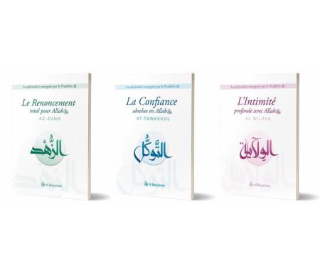 Pack La spiritualité enseignée par le prophète (At-tawakkul / Az Zuhd / Al-Wilaya)