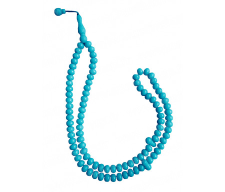 Chapelet tasbih / sebha 99 grains - Bleu