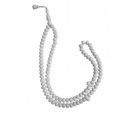 Chapelet tasbih / sebha 99 grains - Blanc