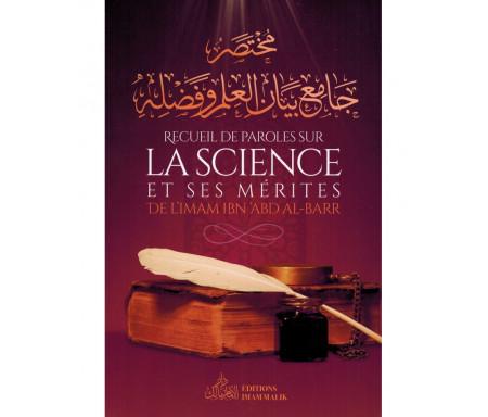 Recueil de Paroles sur La Science et Ses Mérite