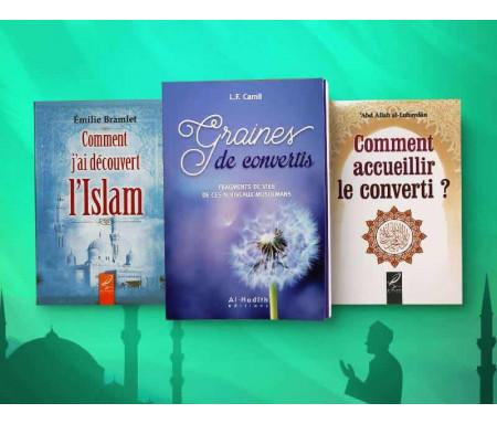 Pack de 3 Livres sur la Conversion : Graines de convertis / Comment accueillir le converti / Comment j'ai découvert l'islam