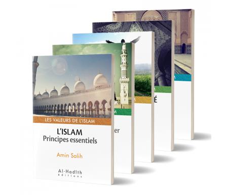 Pack de 7 Livres sur Les Valeurs de l'Islam