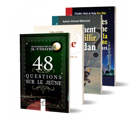 Pack de 4 Livres sur le Mois de Ramadan