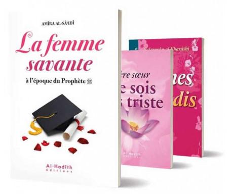 Pack de 3 Livres La Femme Savante en Islam