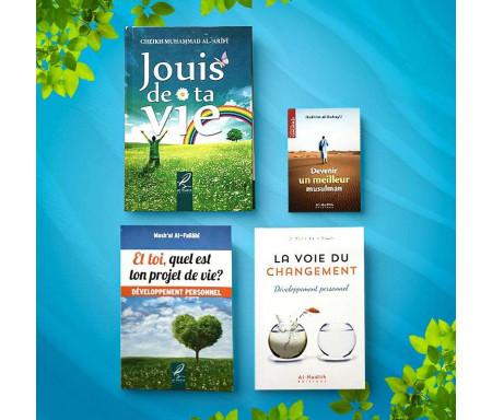 Pack de 4 Livres sur le Développement personnel