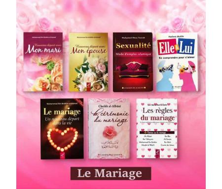 Pack de 7 Livres sur Le Mariage un Nouveau Départ