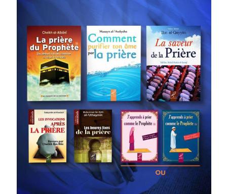 Pack de 7 Livres pour Profiter de la Prière