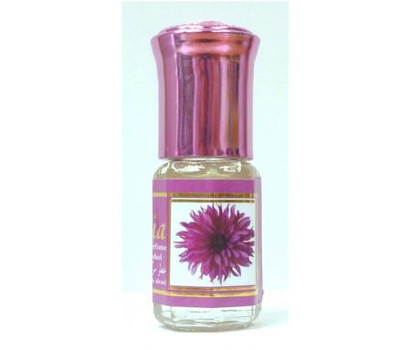"""Parfum concentré sans alcool Musc d'Or """"Samia"""" (3 ml) - Pour femmes"""