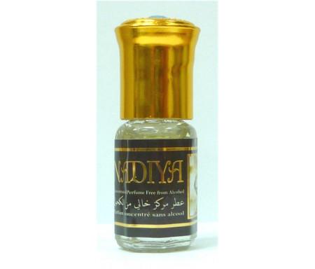 "Parfum concentré sans alcool Musc d'Or ""Nadia Nadiya"" (3 ml) - Pour femmes - نادية"