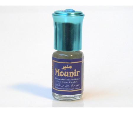 """Parfum concentré sans alcool Musc d'Or """"Mounir"""" (3 ml) - Pour hommes"""