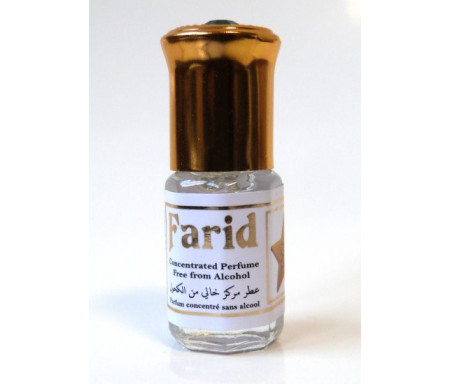 """Parfum concentré sans alcool Musc d'Or """"Farid"""" (3 ml) - Pour hommes"""