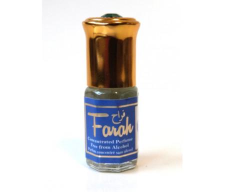 """Parfum concentré sans alcool Musc d'Or """"Farah"""" (3 ml) - Pour femmes"""