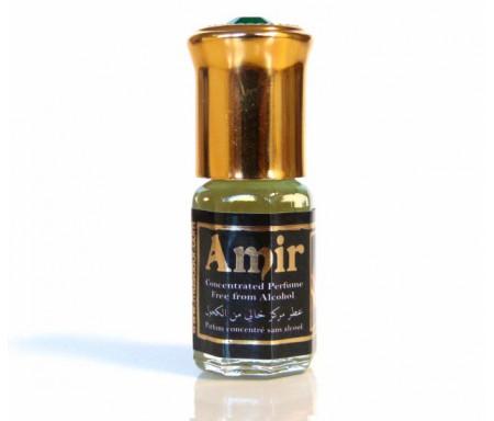 """Parfum concentré sans alcool Musc d'Or """"Amir"""" (3 ml) - Pour hommes"""
