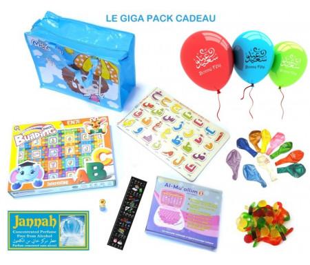 """Le Giga Pack Cadeau : Cartable surprise """"Je découvre la langue arabe"""""""