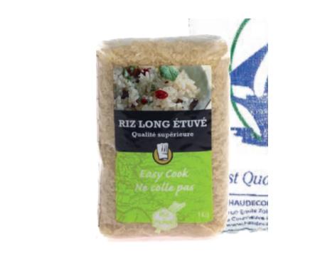 Riz Long étuvé de Qualité supérieure 1kg - Riz du monde