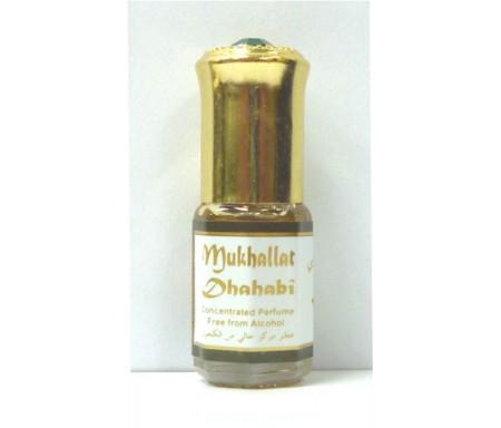 """Parfum concentré sans alcool Musc d'Or """"Mukhallat Dhahabi"""" (3 ml) - Pour hommes"""