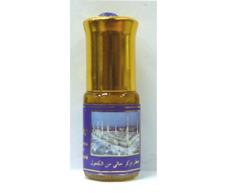 """Parfum concentré sans alcool Musc d'Or """"Musk Al-Madinah"""" (3 ml) - Mixte"""