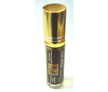 """Parfum concentré sans alcool Musc d'Or """"Rouh Al-Musk"""" (8 ml) - Mixte"""