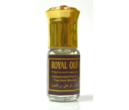"""Parfum concentré sans alcool Musc d'Or """"Royal Oud"""" (3 ml) - Pour hommes"""