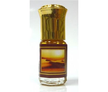 """Parfum concentré sans alcool Musc d'Or """"Sahara"""" (3 ml) - Pour hommes"""