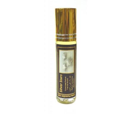 """Parfum concentré sans alcool Musc d'Or """"Silver Stars"""" (8 ml) - Pour hommes"""