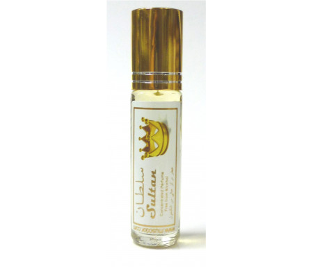 """Parfum concentré sans alcool Musc d'Or """"Sultan"""" (8 ml) - Pour hommes"""