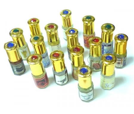 Pack de 16 parfums Musc d'Or de 3 ml (mixte)