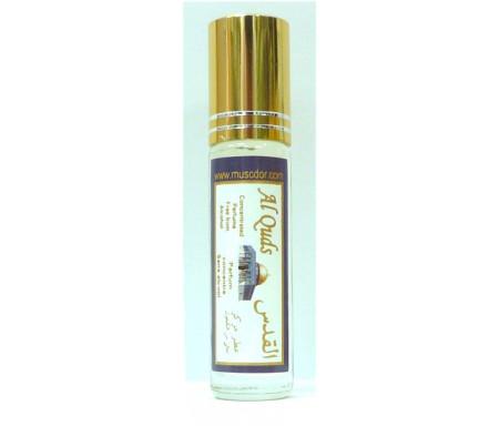 """Parfum concentré sans alcool Musc d'Or """"Al Quds"""" (8 ml) - Pour hommes"""