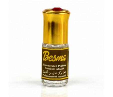 """Parfum concentré sans alcool Musc d'Or """"Besma"""" (3 ml) - Pour femmes"""
