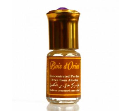 """Parfum concentré sans alcool Musc d'Or """"Bois d'Orient"""" 3 ml"""