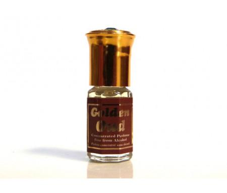 """Parfum concentré sans alcool Musc d'Or """"Golden Oud"""" (3 ml) - Mixte"""