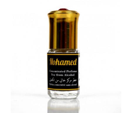 """Parfum concentré sans alcool Musc d'Or """"Mohamed"""" (Mohammed - 3 ml) - Pour hommes"""