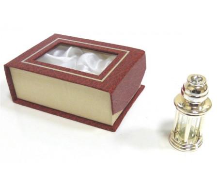 """Parfum concentré sans alcool Musc d'Or """"Nexus"""" - Pour hommes - Edition Prestige (bouteille métallique chromée)"""