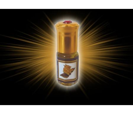 """Parfum concentré sans alcool Musc d'Or """"Oud Aseel"""" (3 ml) - Pour hommes"""
