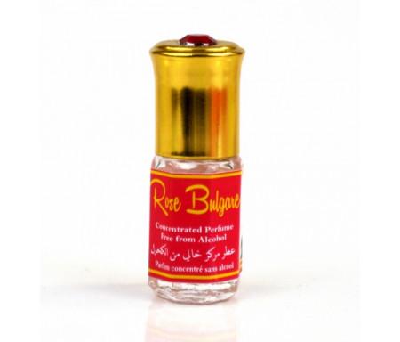 """Parfum concentré sans alcool Musc d'Or """"Rose Bulgare"""" (3 ml) - Pour femmes"""