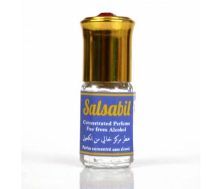 """Parfum concentré sans alcool Musc d'Or """"Salsabil"""" (3 ml) - Pour femmes"""