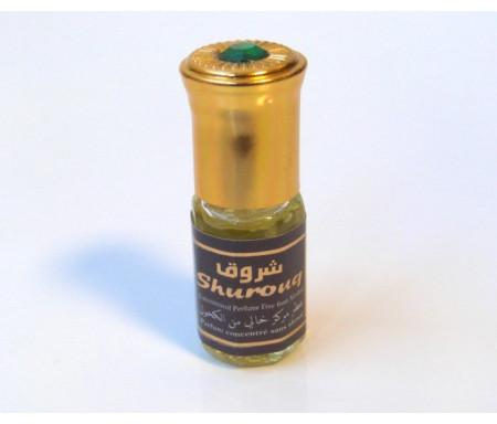"""Parfum concentré sans alcool Musc d'Or """"Shurouq"""" (3 ml) - Pour hommes"""