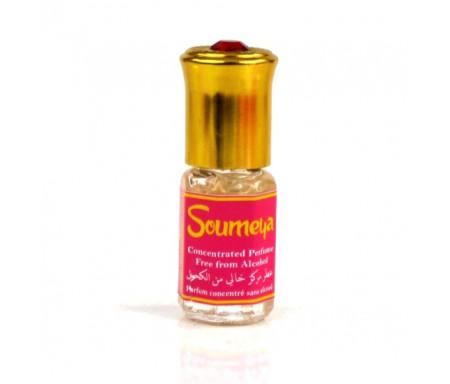 """Parfum concentré sans alcool Musc d'Or """"Soumeya"""" (3 ml) - Pour femmes"""