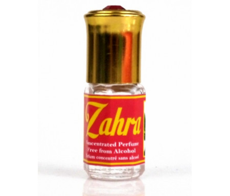"""Parfum concentré sans alcool Musc d'Or """"Zahra"""" (3 ml) - Pour femmes"""