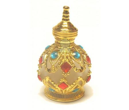 """Parfum mixte """"Musc Fawakih"""" (Boule dorée translucide 15 ml)"""