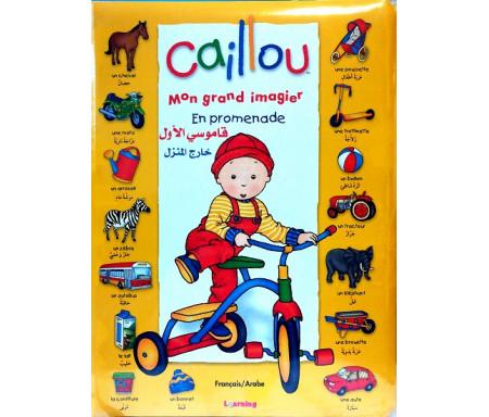 Caillou Mon grand imagier - En promenade - قاموسي الأول خارج المنزل
