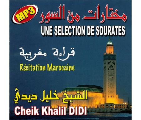 Le Saint Coran Une sélection de Sourates par Cheikh Kalil Didi مختارات من السور لشيخ خليل ديدي