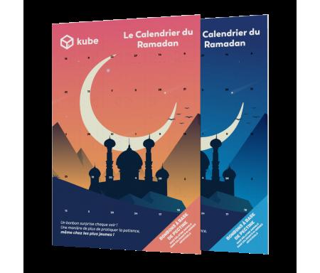 """Calendrier des Bonnes Actions du Ramadan 2020 - Modèle """"Couché de Soleil"""""""