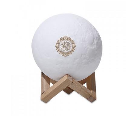 Lampe Veilleuse Coranique Lune avec récitation du Coran (Moon Lamp Qur'an Speaker) Modèle SQ-168