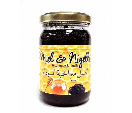 Miel à la graine de Nigelle 250g avec Habba Sawda