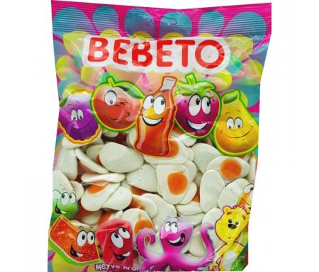 Bonbons Halal Omelettes sucrées au vrai jus de fruit 1kg (Format Familial) - Bebeto