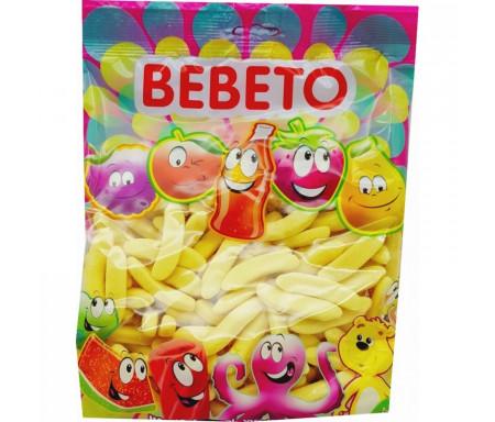 Bonbons Halal Bananes sucrées au vrai jus de fruit 1kg (Format Familial) - Bebeto